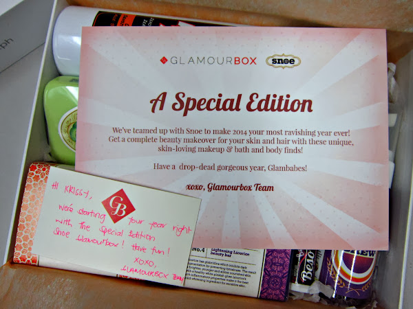 Glamourbox Special Edition: Snoe