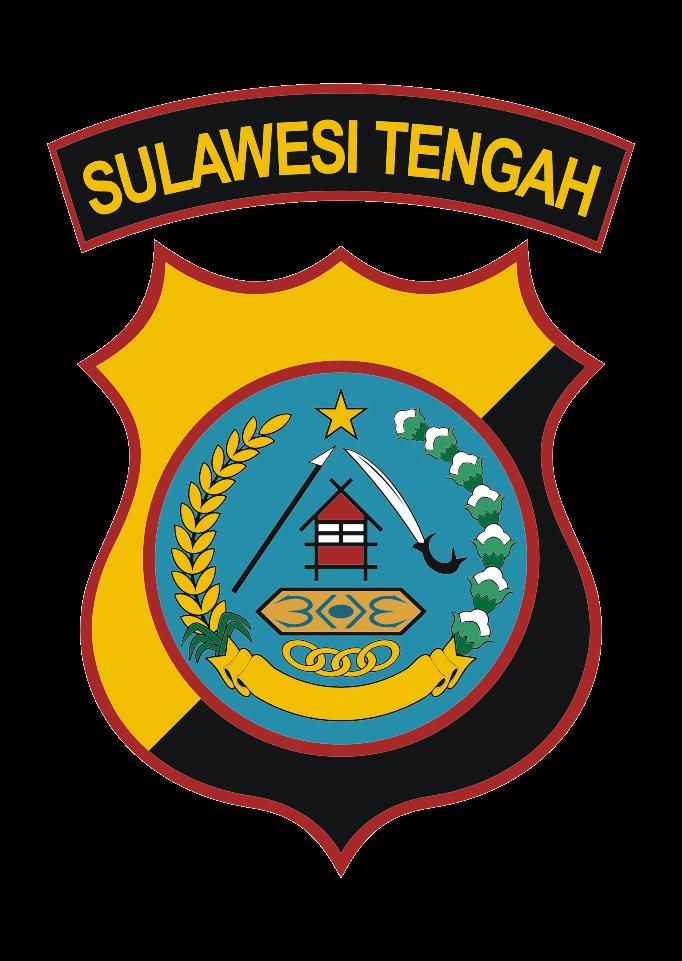 Download Logo Polda Sulawesi Tengah Vector