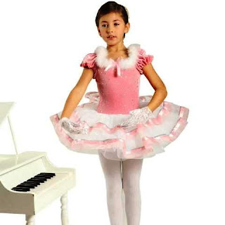 Model Kostum Balet Anak Cantik Warna Pink