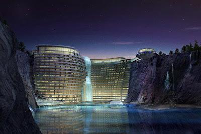 Underground-Resort-in-China-Songjiang Shimao Hotel