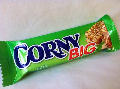 Corny brand peanut snack bar