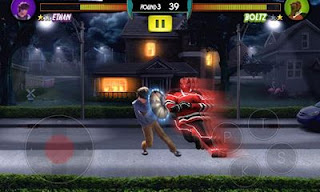 Screenshots of the Humans VS Vampires for Android tablet, phone.
