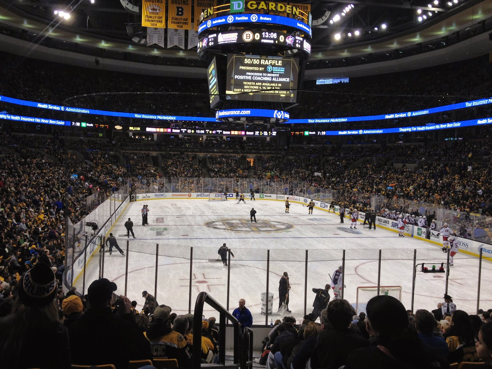 Boston Bruins Hockey Game