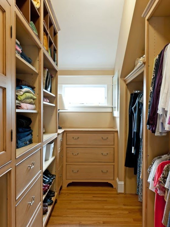 How To Organize A Small Walk In Closet 20 Ideas Walk In Closet With Window  How