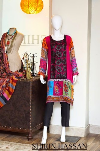 Shirin Hassan Winter Collection 2014-15
