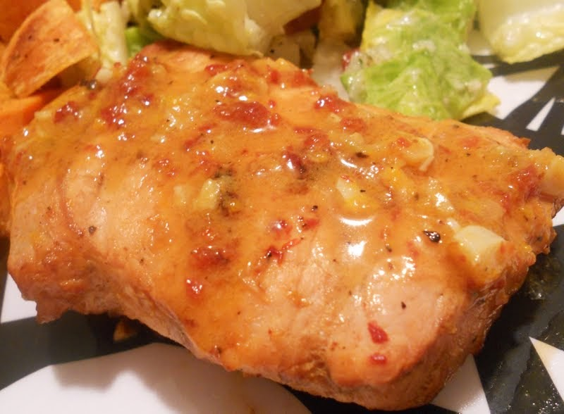 "Mirepoix: Chipotle Orange Pork ""Steaks"""