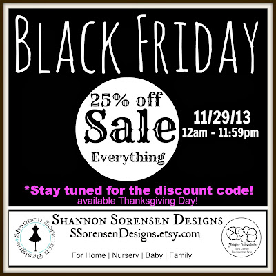 Black Friday Sale Etsy Shop Pillows and Nursery Decor