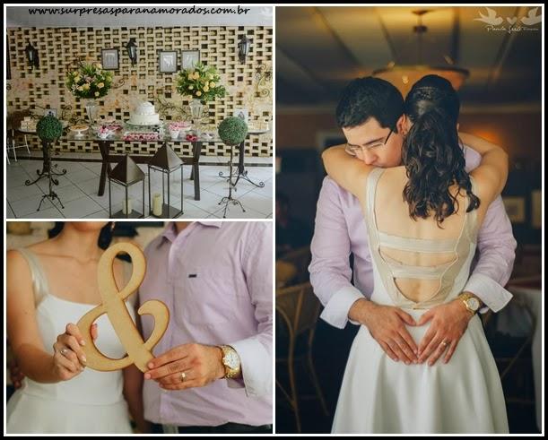 fotos criativas casamento civil