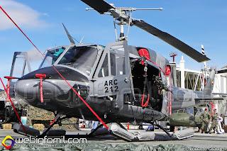 Helicóptero Bell 212 (ARC212) Armada Nacional de Colombia