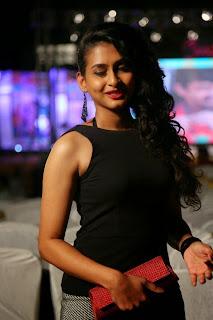 Nitya naresh new actress cute beautiful pics in Short Skirt at Kerintha Audio Release