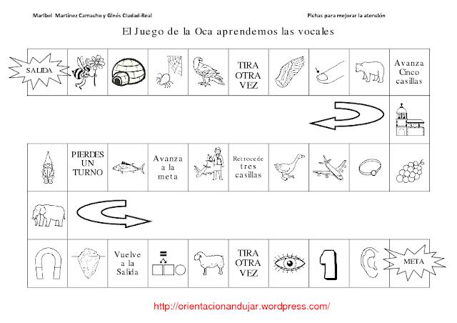 Ejercicios De Las Vocales En Espanol