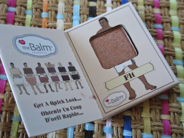 theBalm Fit Eyeshadow single