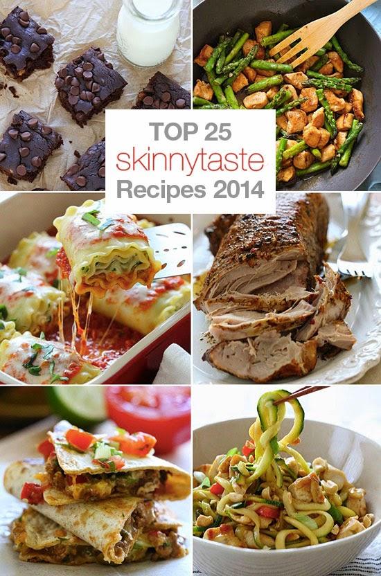 Top 25 Most Popular Skinnytaste Recipes 2014 | fitworlds