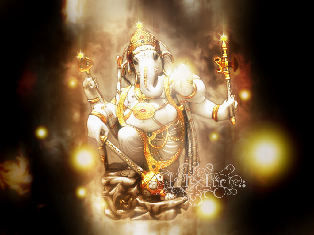 lord ganesha wallpaper computer background - photo #2
