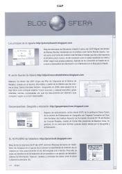 """Nuestro blog en la Revista """"Comunicación y Pedagogía"""""""
