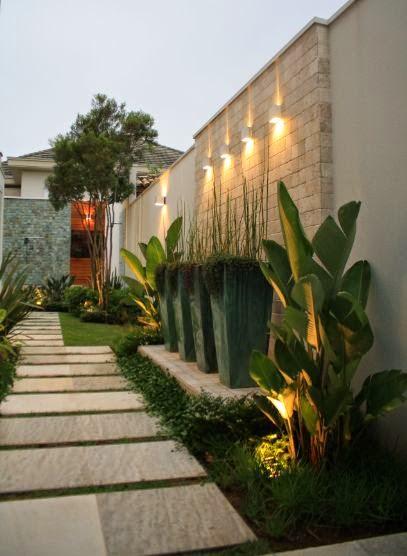 decoracao muros jardim:Vasos no paisagismo! – Jeito de Casa – Blog de Decoração