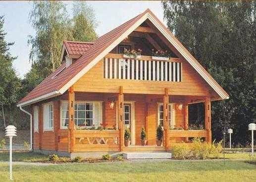 Gambar Rumah Kayu Cantik