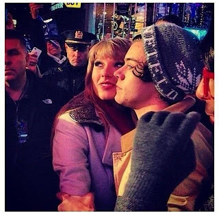 Taylor Swift and Harry Styles in New York on New Year's Eve