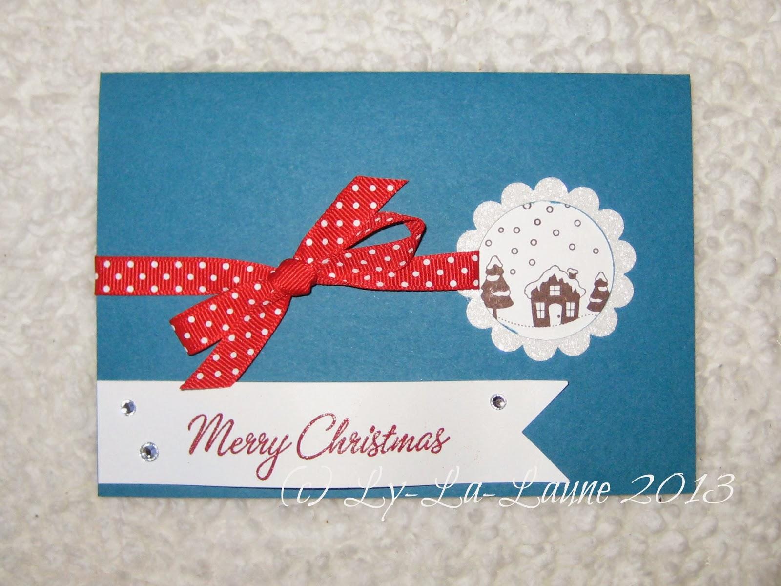 Ly la laune noch mehr weihnachtskarten - Ideen weihnachtskarten ...