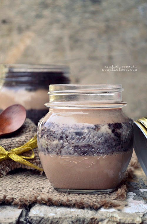 Heavenly Milo & Oreo Pudding