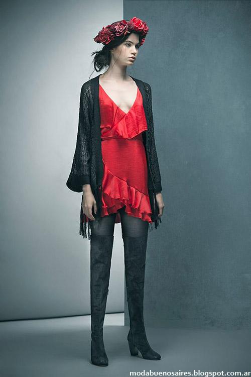 Vestidos invierno 2015 Doll Store.