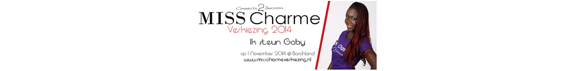 Vote Gaby for Miss Charme 2014!