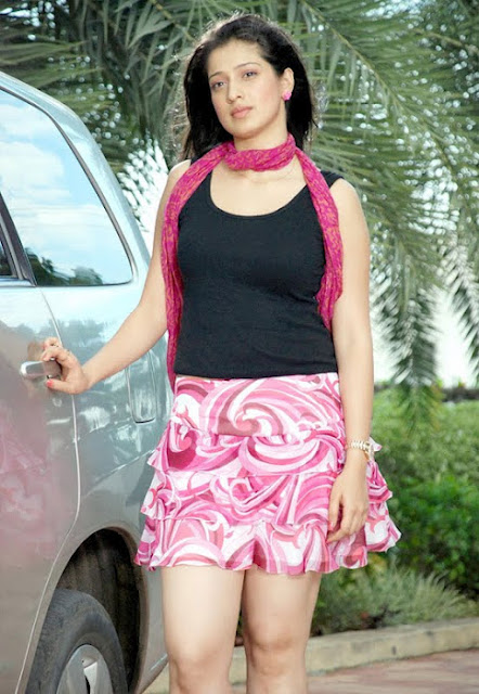Lakshmi Rai Hot In Short Skirt Pictures