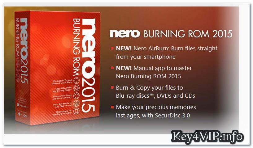 Nero Burning ROM FINAL 2015 v16.0.02200 Full Key,Phần mềm ghi đĩa Boot và dữ liệu số 1