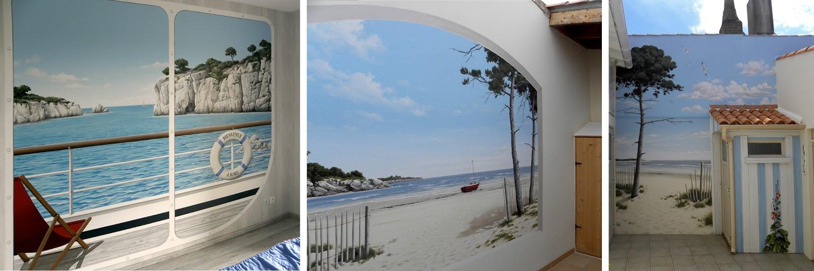 fr d ric poulnais artiste peintre muraliste. Black Bedroom Furniture Sets. Home Design Ideas