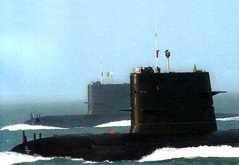 Armada Kapal Selam China