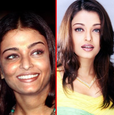 aishwarya rai before and after plastic surgery alia bhatt