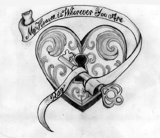heart tattoo designs