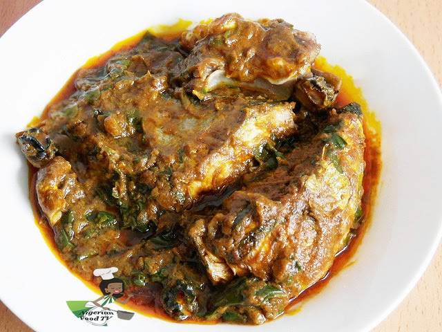 Abak atama soup for African cuisine dishes