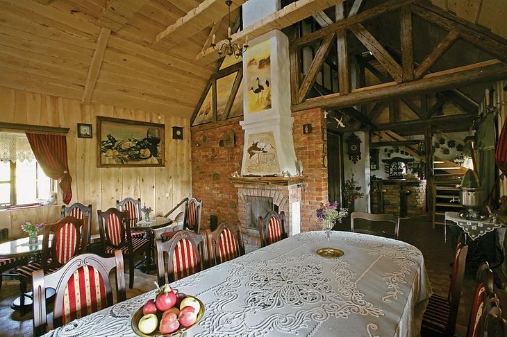 Estilo rustico casa de campo rustica polaca - Casa y campo rustico ...