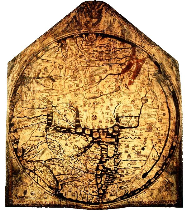 S vikas world map 14th century description the hereford mappa mundi is a world map dating to ca 1300 derived from the t and o maps and the largest known medieval map gumiabroncs Image collections