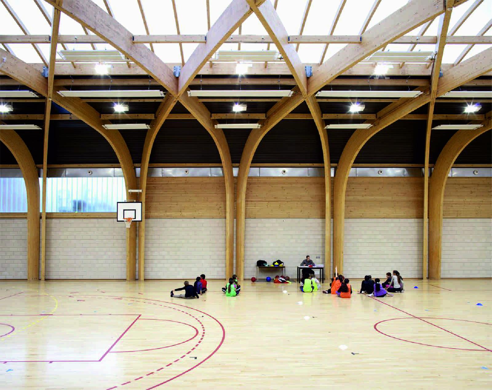 gymnasium r gis racine by atelier d architecture alexandre dreyss a as architecture. Black Bedroom Furniture Sets. Home Design Ideas