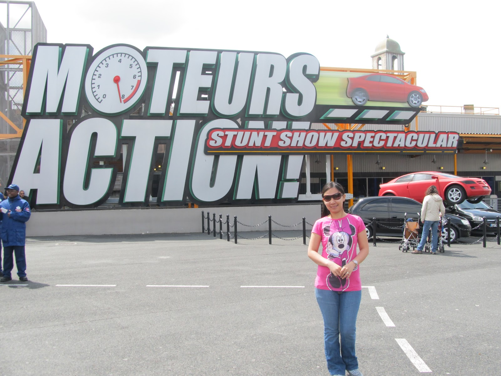 Paris Disneyland Walt Disney Studios Motors Action Stunt Show Spectacular