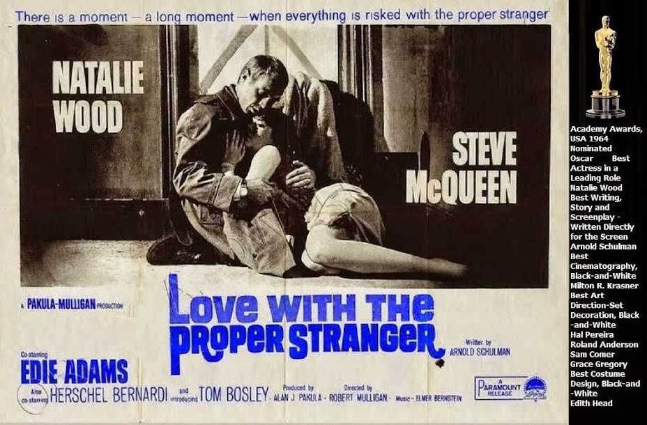 LOVE WITH THE PROPER STRANGER (1963) WEB SITE