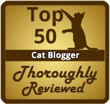 I'm One of the Top 50 Cat Bloggers