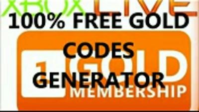 Download Free Xbox Live Gold Membership Code Generator 2013
