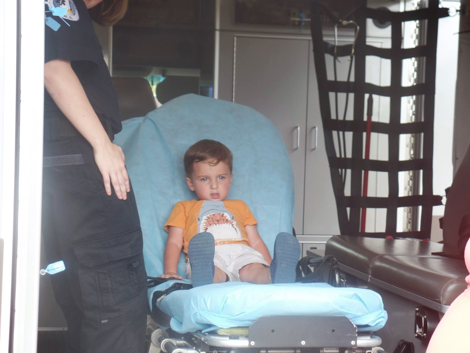 nick in the ambulance