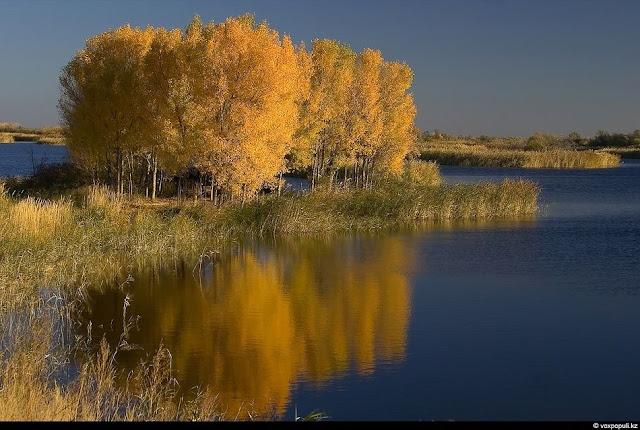Kapchagai Kazakhstan  City new picture : ... Kapchagai. Khi đã lắng lại trong hồ, nước vô cùng trong