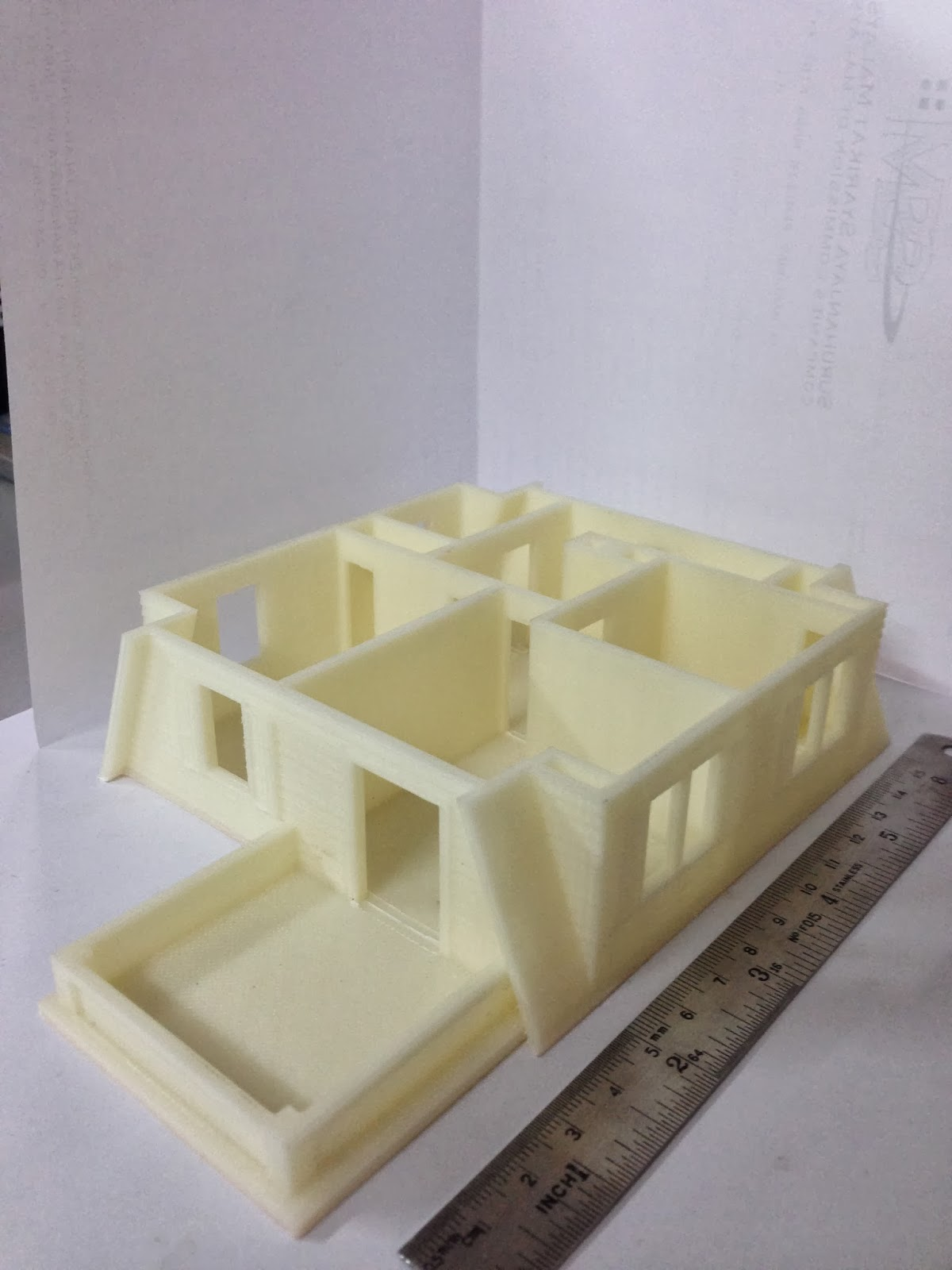 3D Printing Services 3D Printed House Model