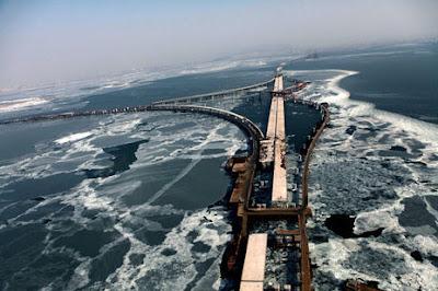 สะพานที่เปิดในวันฉลองครบรอบ 90 ปีพรรคคอมมิวนิสต์