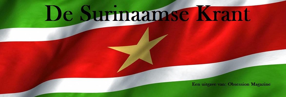 De Surinaamse Krant:, dagelijks Surinaams nieuws: