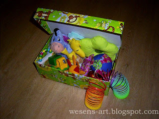 Toy boxes from shoe boxes 3    wesens-art.blogspot.com