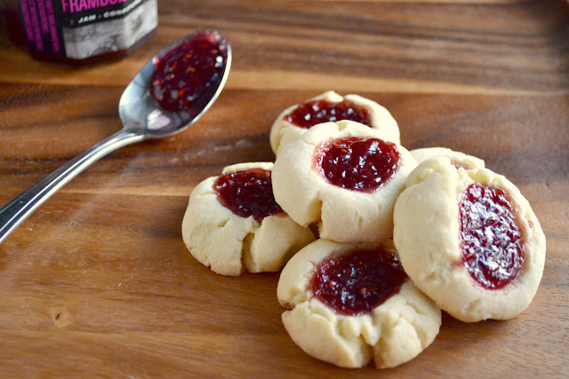 jam thumbprint cookies recipe