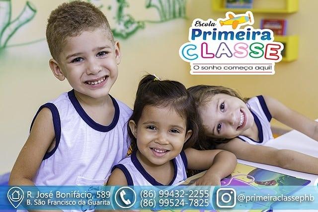 ESCOLA PRIMEIRA CLASSE