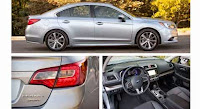 Things Offered by 2015 Subaru Legacy