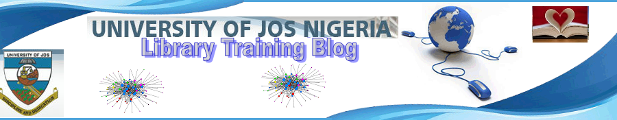 University of Jos Library Training Blog